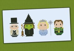 Wicked - The musical parody - Cross stitch PDF pattern