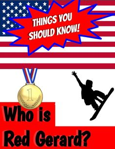 Red Gerard wins the first gold for USA in 2018 Winter Olympics! Celebrate in your classroom with this informational worksheet, great for morning work. Us Olympics, 2018 Winter Olympics, Red Gerard, Reading Comprehension Worksheets, Olympic Champion, Kids Up, Morning Work, Current Events, Snowboarding