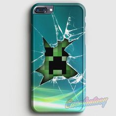 Minecraft Creeper iPhone 7 Plus Case | casefantasy