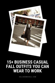 15 Very Chic Business Casual Fall Outfits For Work Fall outfit ideas for work that are business casual, chic, and professional. Wondering what to wear to work for fall, autumn, and winter season? Inspiration for outfits Chic Business Casual, Business Casual Outfits For Women, Fall Outfits For Work, Casual Chic, Autumn Outfits, Office Ideas For Work, Casual Dress Outfits, Cardigan Outfits, Chic