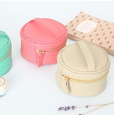 MochiThings.com: Mini Round Jewelry Pouch
