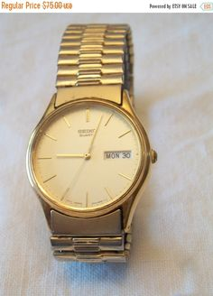 LOVEABLE ITEMS Vintage 1989 Mens Seiko Quartz by ALEXLITTLETHINGS