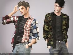 The Sims Resource: Balae Shirt by toksik • Sims 4 Downloads