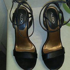 Aldo Paules Dress heels Black, in good condition. ALDO Shoes Heels