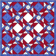 The symmetry in motion quilt block is used with a diamond in square alternate block for this quilt.: I hope the quilt design does justice to the name!
