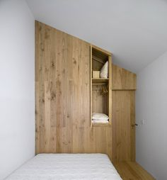 don't love the wood but do like the wood on one wall approach.
