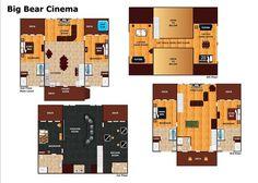 Big Bear Cinema #510 | 5 Bedroom Cabins | Pigeon Forge Cabins | Gatlinburg Cabins