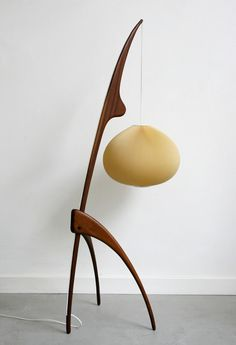 adamwhaley:    I really like this Praying Mantis lamp by Rispal from the 1950s.
