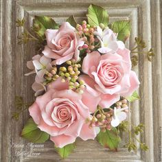 Giant Flowers, Paper Flowers Diy, Clay Flowers, Ceramic Flowers, Fabric Flowers, Flower Box Gift, Flower Frame, Flower Cards, Picture Frame Wreath