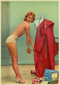 """""""Tailor Maid,"""" 1950s"""