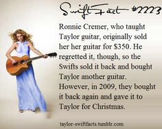 Aww i bet she loved getting it back! Taylor Swift Guitar, Taylor Swift Concert, Long Live Taylor Swift, Taylor Swift Facts, Taylor Swift Pictures, Taylor Alison Swift, One & Only, Ed Sheeran, Role Models