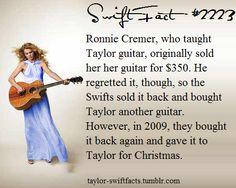 Aww i bet she loved getting it back! Long Live Taylor Swift, Taylor Swift Facts, Taylor Swift Pictures, Taylor Alison Swift, Taylor Swift Guitar, Taylor Swift Concert, Feeling 22, Ed Sheeran, Role Models