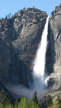 Yosemite Falls - The Redwoods In Yosemite - Year Round Vacation Home Rentals Wedding and Event Center inside Yosemite National Park Yosemite National Park, National Parks, Yosemite Falls, Vacation Home Rentals, Most Visited, Day Trip, Waterfall, Outdoor, Outdoors