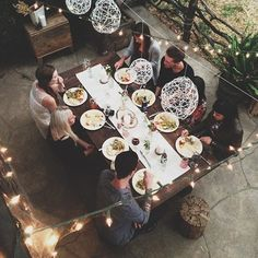 Dinner at home with friends http://dienasgramata.tumblr.com/#87094915643