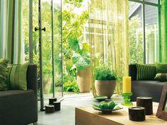 New post on casasdecoradas Ecology, Divider, Room Decor, Diy Crafts, Plants, Furniture, Baghdad, Interior Design, Decoration