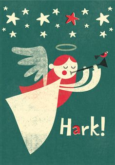 Christmas card design by Steve Mack
