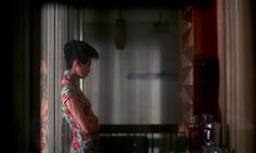"""Maggie Cheung in """"In The Mood For Love"""" (2000, Kar-Wai Wong) Cinematography by Christopher Doyle, Pung-Leung Kwan and Ping Bin Lee"""