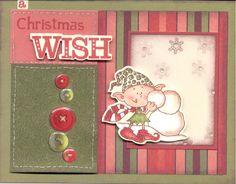 Christmas Card:  Close To My Heart Card Kit