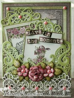 Heartfelt Creations | Live In The Moment Roses