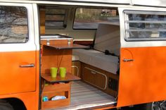 View Peaches a genuine VW Westfalia bay window camper