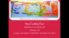 Courageous U: Women Leading and Living with Courage, via YouTube. November 9-10, 2012