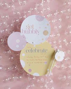 Bubble Invitations