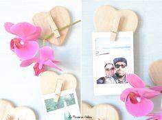 Coeur Clips 50 pcs Amour Coeur Petit en Bois Pince /À Linge Artisanat Clips DIY Cartes Photo Peg D/écoration et Suspend