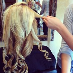 Tutorial: Curling with a Flat Iron    this is excellent!