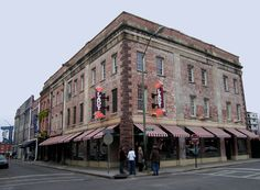 Savannah, GA. I've been there. Delicious, southern food.  Loved it!