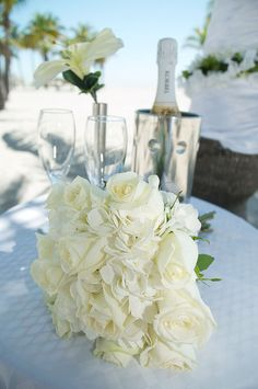 Crandon beach wedding bouquet