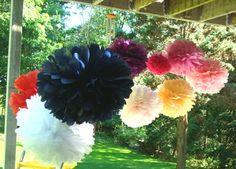 decorations, fiesta, pom pom, color