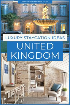 Looking for luxury staycation ideas in the UK? Here are some of the trips we have planned. With local travel being the most practical travel option at present, there's no better time to plan a road trip, book a luxury weekend away, explore a new cozy town in the countryside or escape to the UK coast. | Mrs O Around the World | staycation ideas UK | staycation ideas for couples UK | UK weekend breaks | UK weekend getaways | UK weekend breaks romantic | Luxury Vacations in the United Kingdom Weekend Breaks Uk, Countryside Hotel, Travel Around The World, Around The Worlds, British Beaches, Hotel Website, Europe Travel Guide, Weekends Away, Best Places To Eat