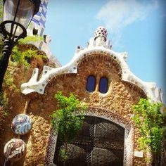 Park guel in Barcelona #gaudi #architecture