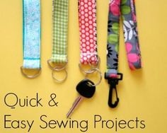 It's not difficult to sew when you have quick and easy #sewing #projects at your disposal. Give this collection a try!
