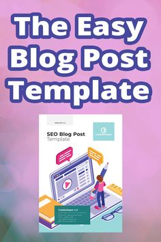 How to write an epic blog post that is also search engine optimized. This template covers keyword research, and what to do with those keywords in the article once you have them. The template allows you to outline and write your blog posts fast, because the process is streamlined. You will figure out your keywords, then know which ones to put where, and then how to format your posts so people stay on your site longer. All of which increase your site's authority and build traffic. Website Design Cost, Website Design Services, Website Design Company, Wordpress Website Development, Wordpress Website Design, Website Web, Website Themes, Blog Post Template, Web Design Agency