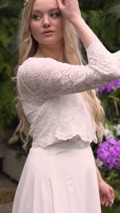 Boho Wedding, Wedding Ceremony, Wedding Ideas, Bridal Tops, Engaged To Be Married, Curvy Bride, Marriage Vows, Photos Of Women, Something Beautiful