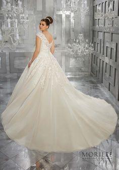 2ec6967d3fdd Morilee | Madeline Gardner, Moiselle Plus Size Wedding Dress. Breathtaking  and Timeless, this