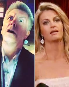 "Tom Bergeron Mocks Erin Andrews' ""Ugly Cry Face"" From Dancing With the ... DWTS  #DWTS"