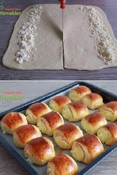Tornado Potato, Bread Recipes, Cooking Recipes, Delicious Desserts, Yummy Food, Turkish Kitchen, Turkish Recipes, Bread Baking, Hot Dog Buns