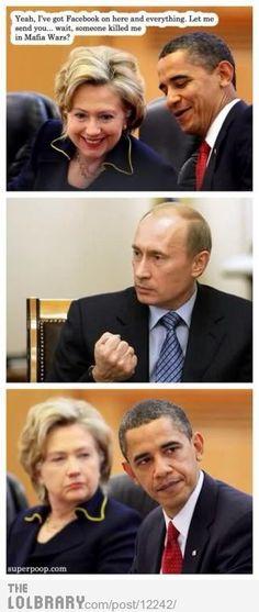 Vladimir Putin, 140% troll!