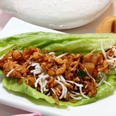 """Healthy"" P. F. Changs Lettuce Wraps"