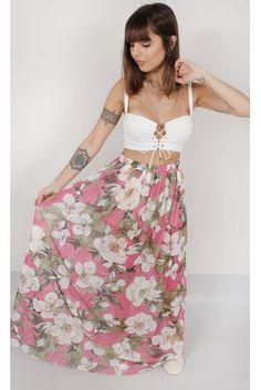 saia-longa-flores-tule-rosa