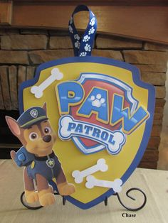 Paw Patrol Sign by AddyBugs on Etsy,