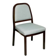 Traditional seat, back and arms upholstered aluminum wood look arm chair, made to be durable this chair is perfect for restaurants or any high traffic venue Wood Chairs, Dining Room Chairs, Stacking Chairs, Bar Furniture, Armchair, Restaurants, Arms, Traditional, Design