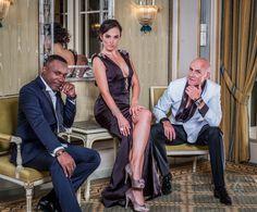 Dress-Nina Naustdal Couture....Tux-Alvin...Paul Peart..Tux-Wilfread..Paul Peart Models..Paul Peart..Olga Divakova..Børre Olsen.