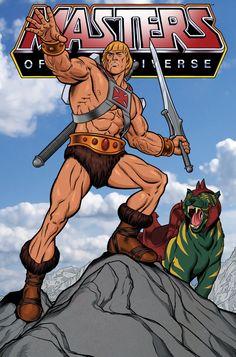 He-Man - MOTU - Adam Huntley
