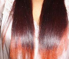 Dark Red fades to Orange