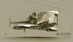 Альтернативный дизайн кораблей. Звездные Войны. Концепт-арт.