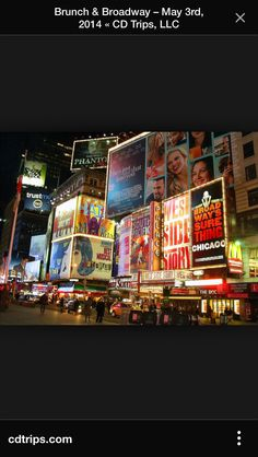 Broadway Musical is a must! Lion King, Phantom of the Opera, or Wicked