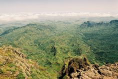 www.kaapverdie.nl - Pico da Antónia, de hoogste berg van Kaapverdië, gelegen op het eiland Santiago, Kaapverdië, Kaapverdische Eilanden, Cabo Verde, Cape Verde